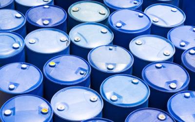 Volume de rétention de produits chimiques