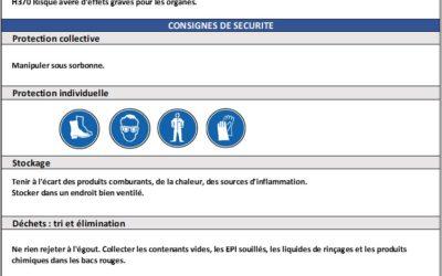 Exemple de FDS simplifiée