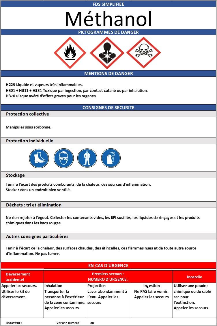 Exemple FDS simplifiée