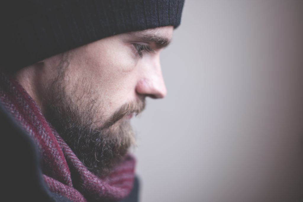 Masque respiratoire avec barbe