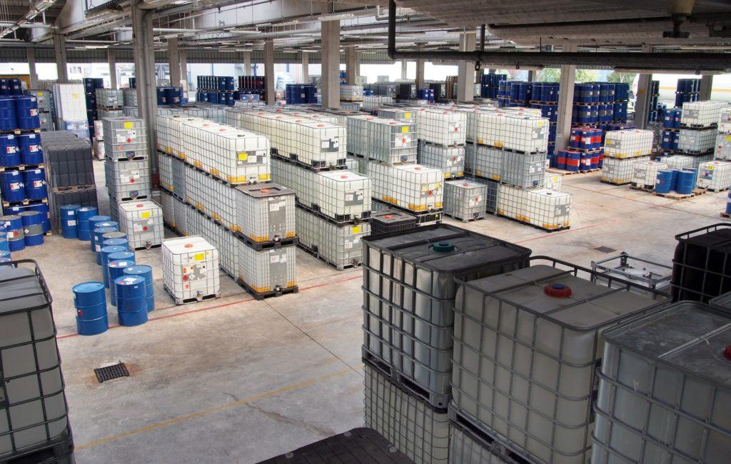 Stockage produits chimiques